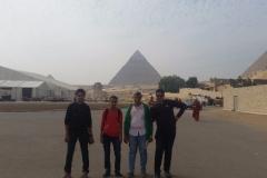 رحلة الصفوف الاولي لمنطقة الاهرامات الاثرية