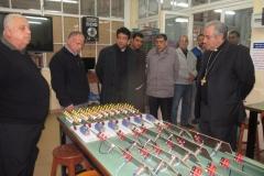زيارة السفير الفاتيكاني