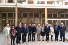 زيارة سفير إيطاليا فى مصر لمعهد دون بوسكو بالإسكندرية معالى السيد/ جيامباولو كانتينى
