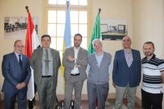 زيارة سفير ايطاليا 15.5.2018