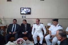 زيارة السيد السيد اللواء / أمين عز الدين - مساعد الوزيرومديرأمن الأسكندرية