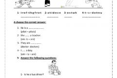 every body revision prim 2مراحعه اللغه الانجليزيه للصف الثاني الابتدائي