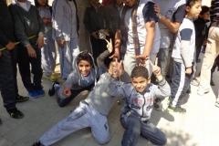 اليوم الرياضي للصف الثاني الاعدادي في مسابقة مع مدرسة سان ميشيل