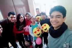 تنظيم زيارة لمستشفي رشيد محمد رشيد للاورام