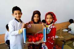 معسكر السوق  والخضروات لاطفال الروضة